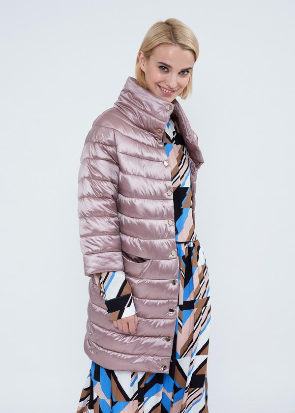 Пальто с воротником-стойкой  - фото 4