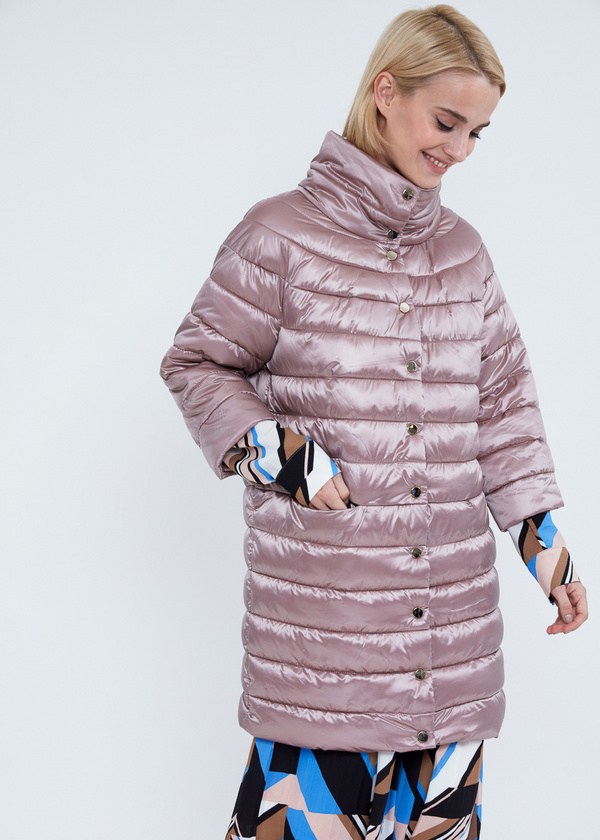 Пальто с воротником-стойкой  - фото 5