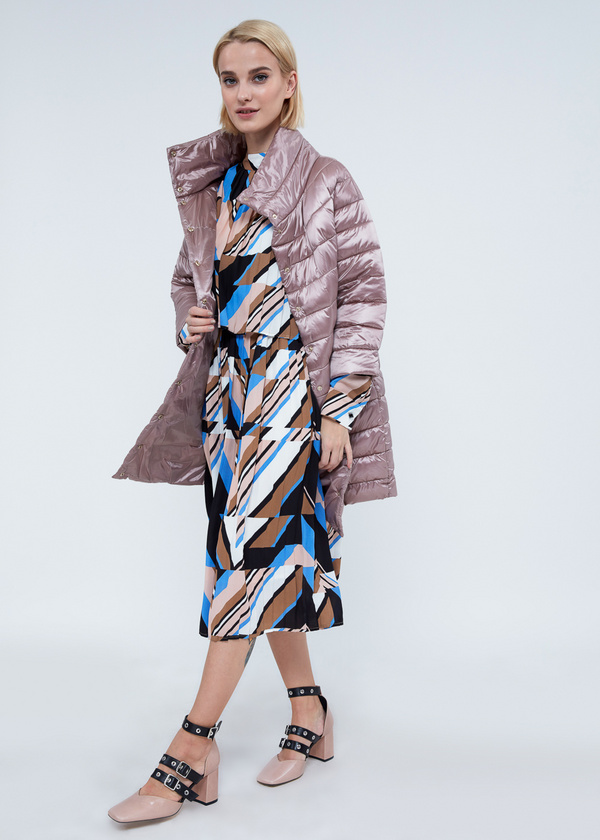 Пальто с воротником-стойкой  - фото 6