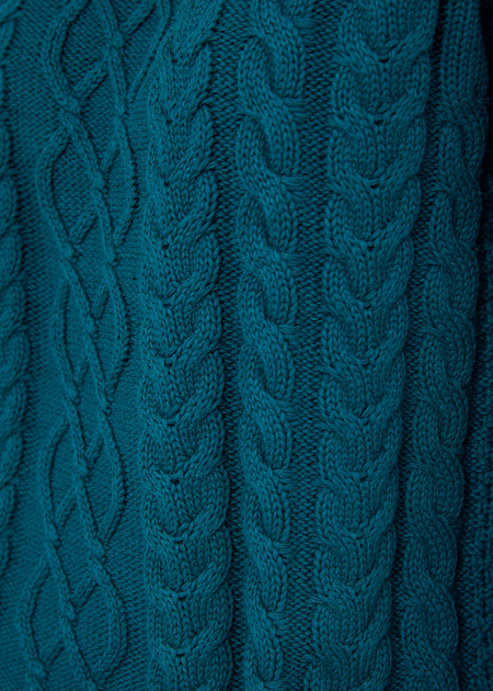 Джемпер фактурной вязки - фото 3