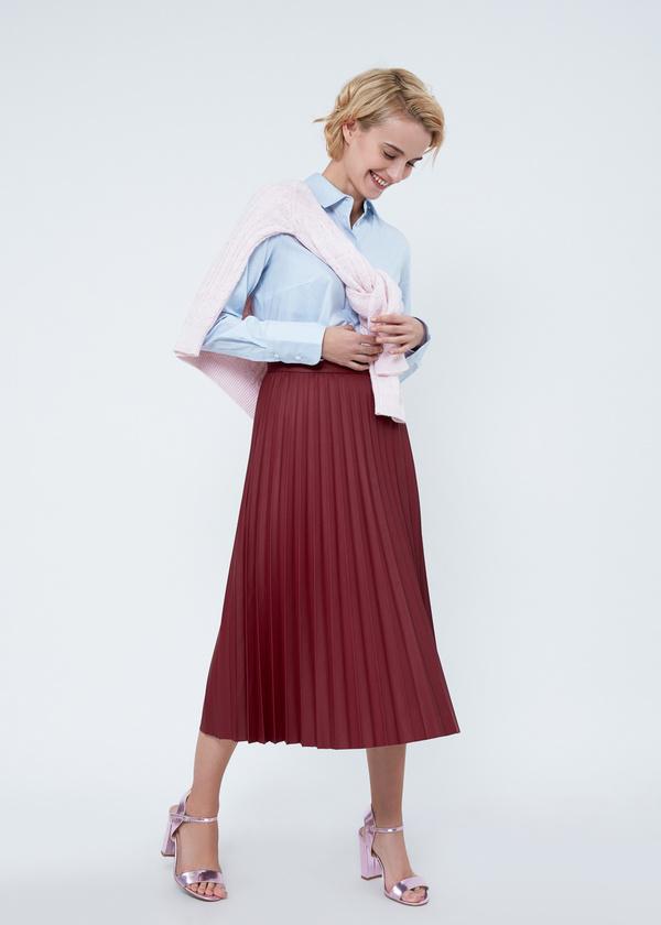 Приталенная блузка из хлопка - фото 5