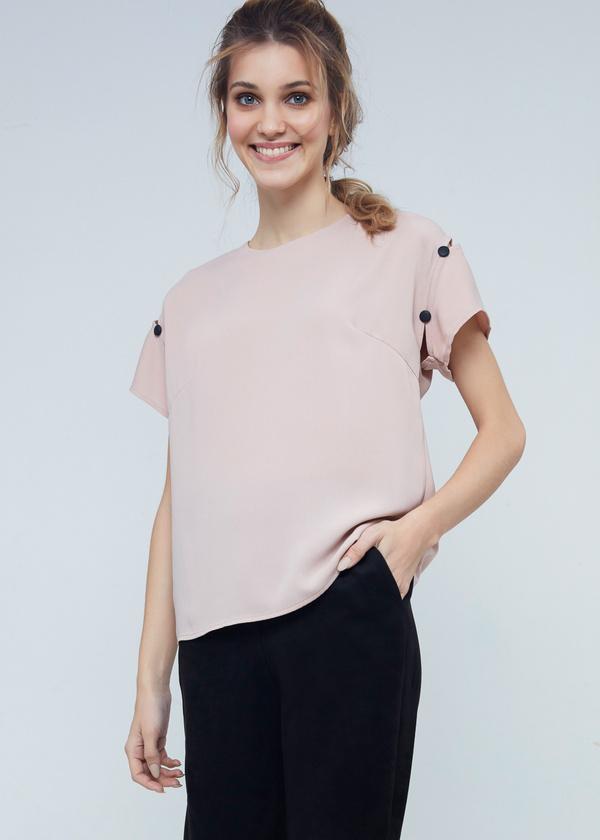 Блузка с завязками на спине - фото 1