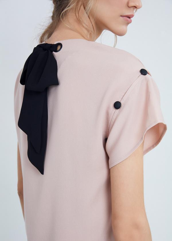 Блузка с завязками на спине - фото 2