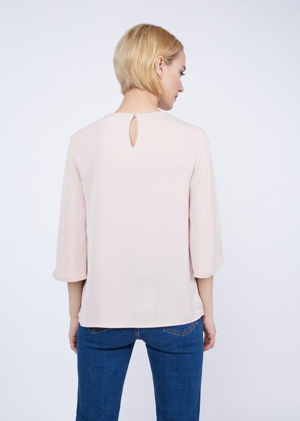 Блузка с рукавами клеш - фото 6