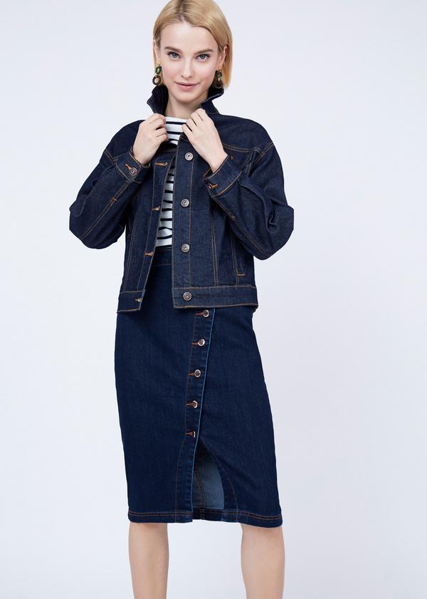 Джинсовая куртка оверсайз - фото 2