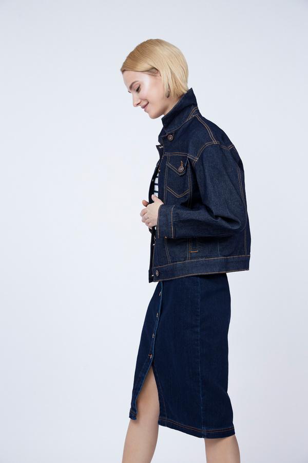 Джинсовая куртка оверсайз - фото 3