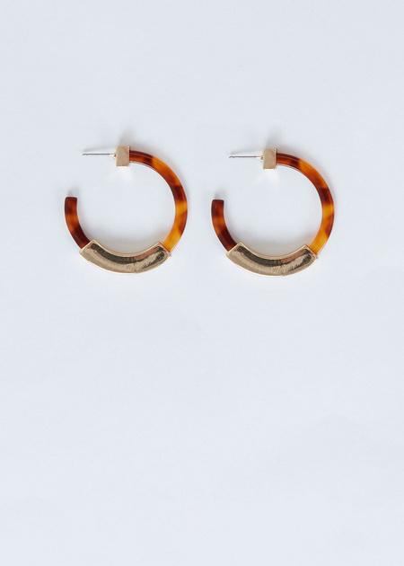 Серьги-кольца - фото 1