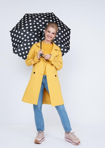 Складной зонт в горошек - фото 4
