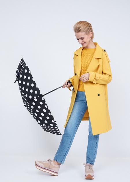 Складной зонт в горошек - фото 5
