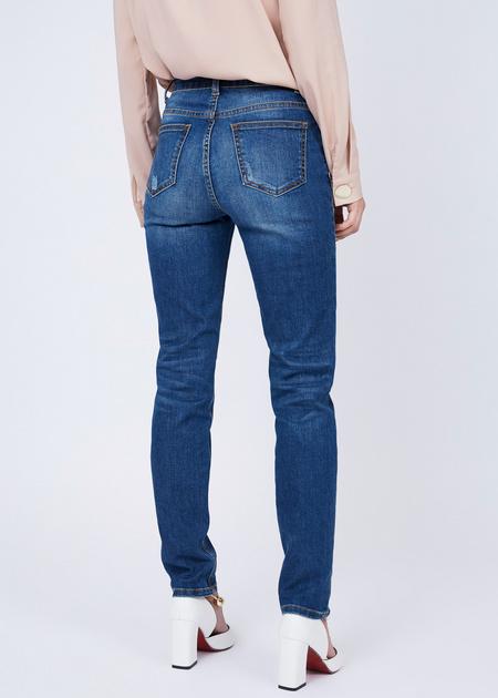 Прямые джинсы - фото 4