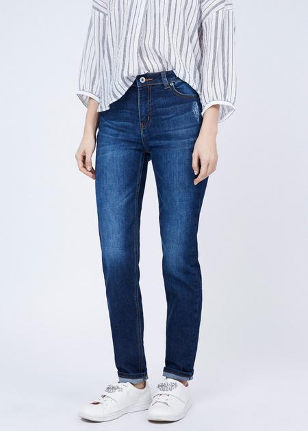 Прямые джинсы - фото 1