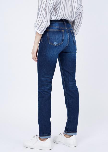 Прямые джинсы - фото 3