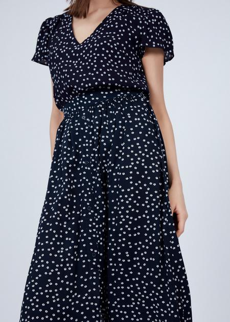 Струящаяся юбка из вискозы - фото 2