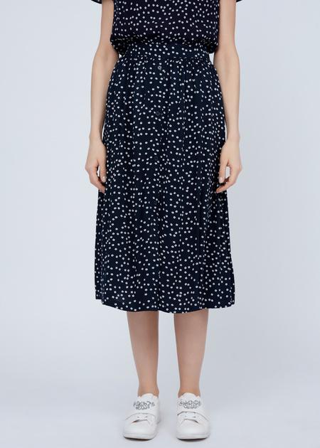 Струящаяся юбка из вискозы - фото 3