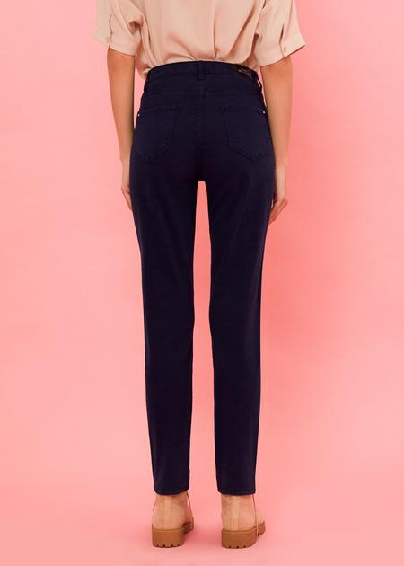 Прямые брюки из денима - фото 4