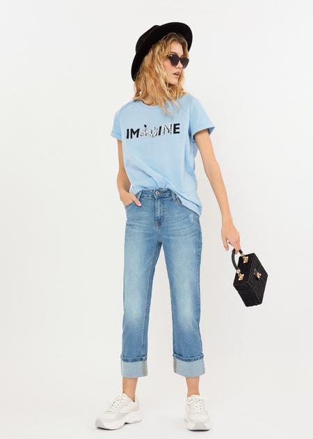 Укороченные джинсы - фото 5