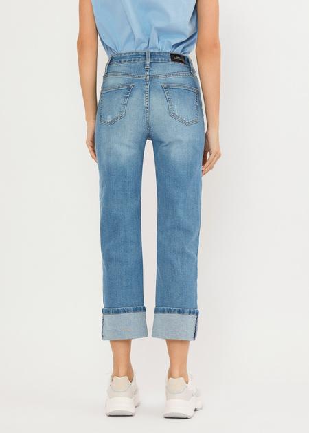 Укороченные джинсы - фото 6