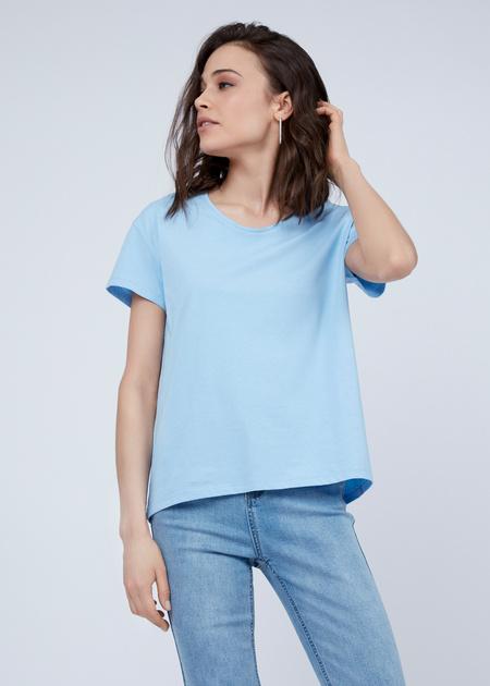 Базовая футболка из 100% хлопка - фото 1