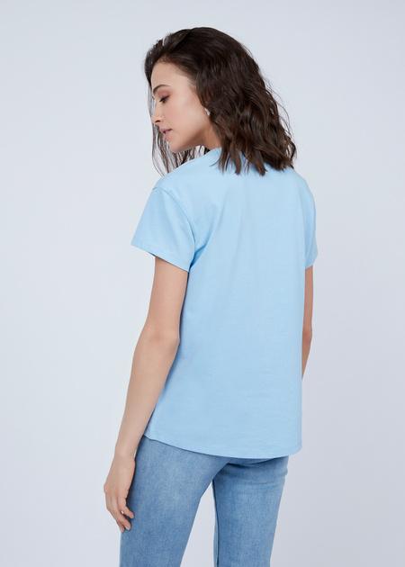 Базовая футболка из 100% хлопка - фото 4
