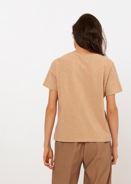 Хлопковая футболка с анималистичной надписью - фото 5