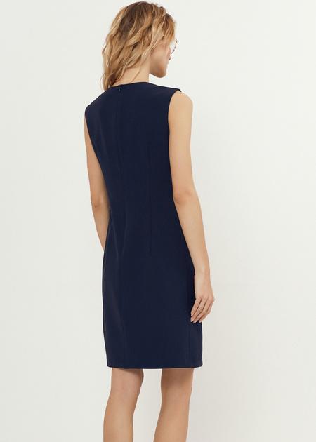 Платье-мини со стразами - фото 3