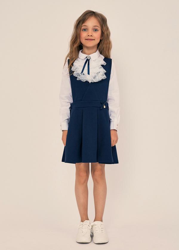Школьный сарафан для девочек - фото 1