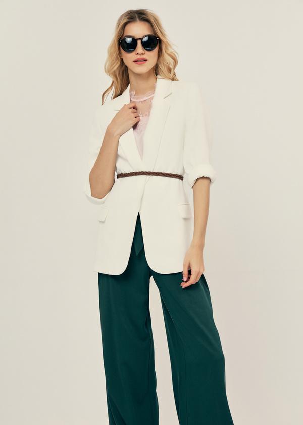 Легкая блуза с кружевом - фото 6
