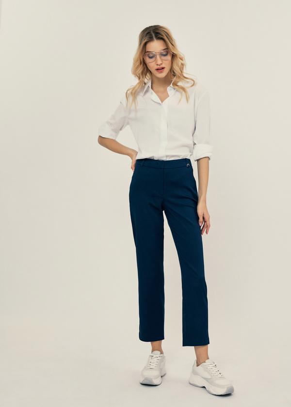 Укороченные брюки  - фото 1