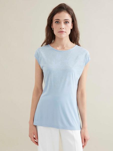 Удлиненная футболка - фото 1