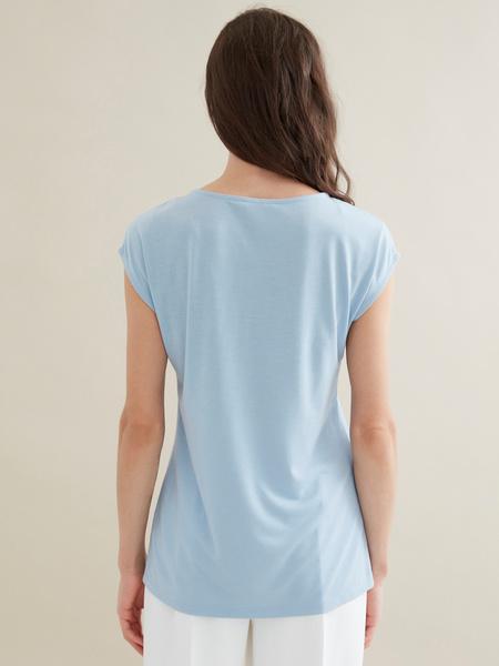 Удлиненная футболка - фото 4