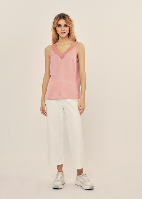 e802a8f5330 Женские блузки без рукавов - купить в интернет-магазине «ZARINA ...