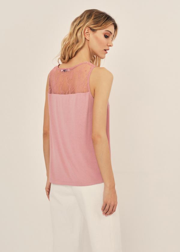 Легкая блуза с кружевом - фото 2