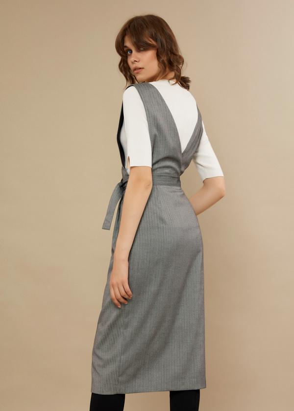 Платье-сарафан на запахе - фото 3