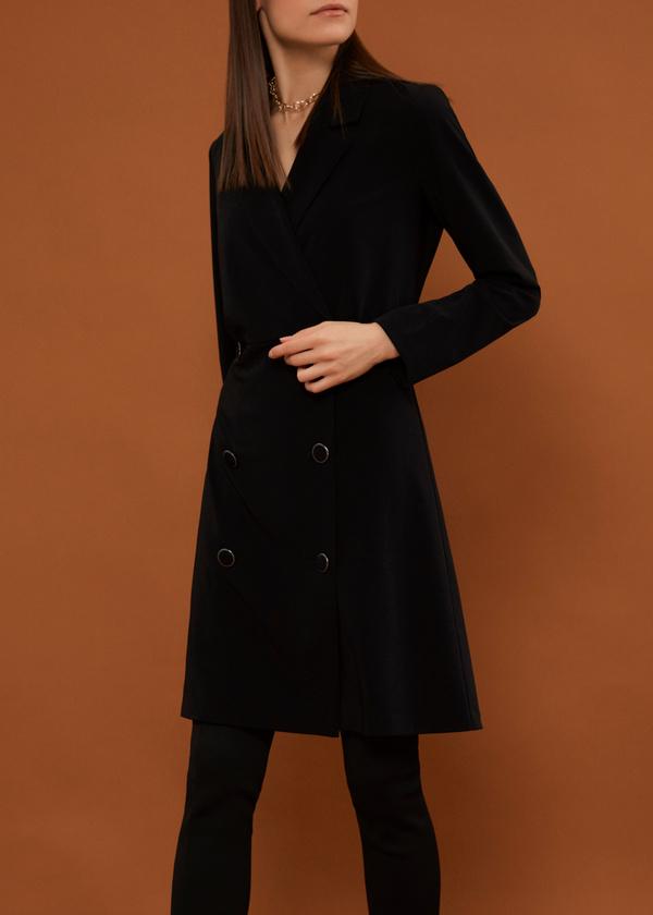 Платье-пиджак на пуговицах - фото 2
