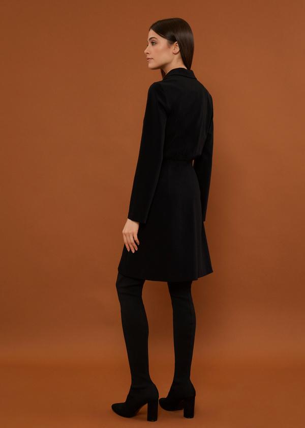 Платье-пиджак на пуговицах - фото 3