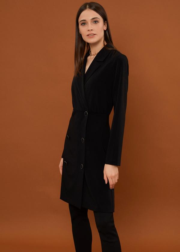 Платье-пиджак на пуговицах - фото 4