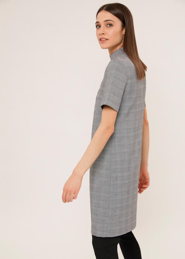 Платье-мини с чокером - фото 3