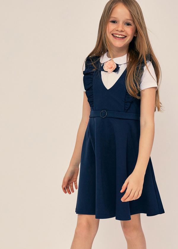 Сарафан для девочек с оборками - фото 4