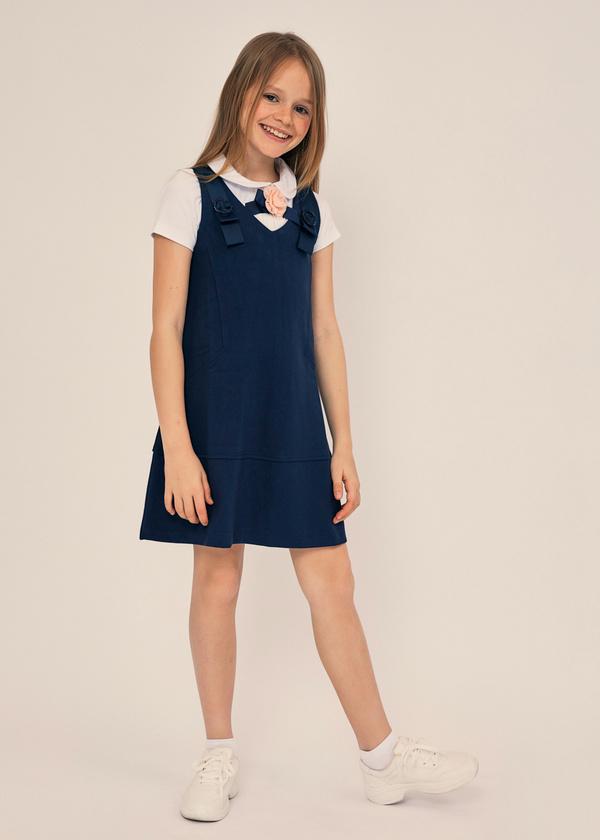 Платье-сарафан для девочек - фото 1
