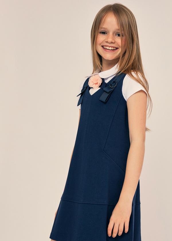 Платье-сарафан для девочек - фото 2