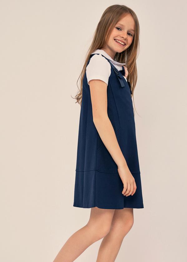 Платье-сарафан для девочек - фото 4