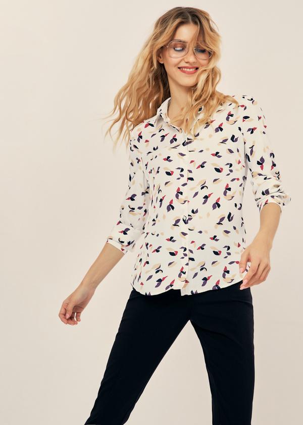 Блузка прямого кроя - фото 1