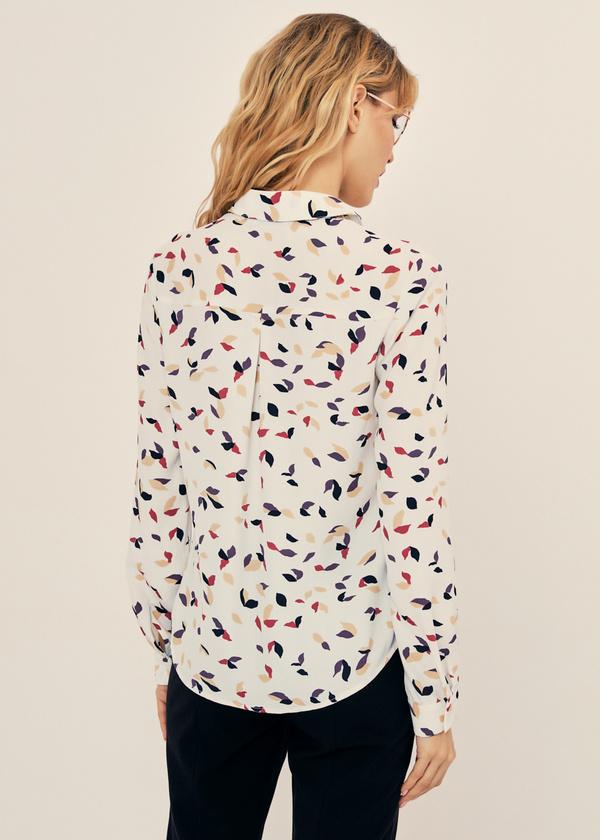 Блузка прямого кроя - фото 3