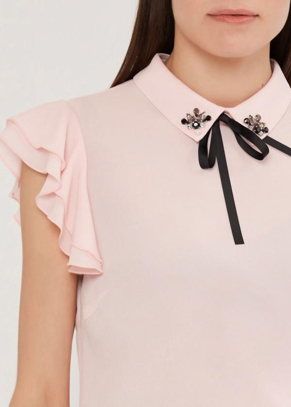 Блузка с рукавами-крылышками - фото 2