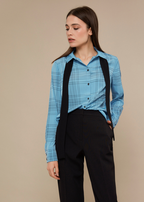 Блузка с галстуком - фото 1