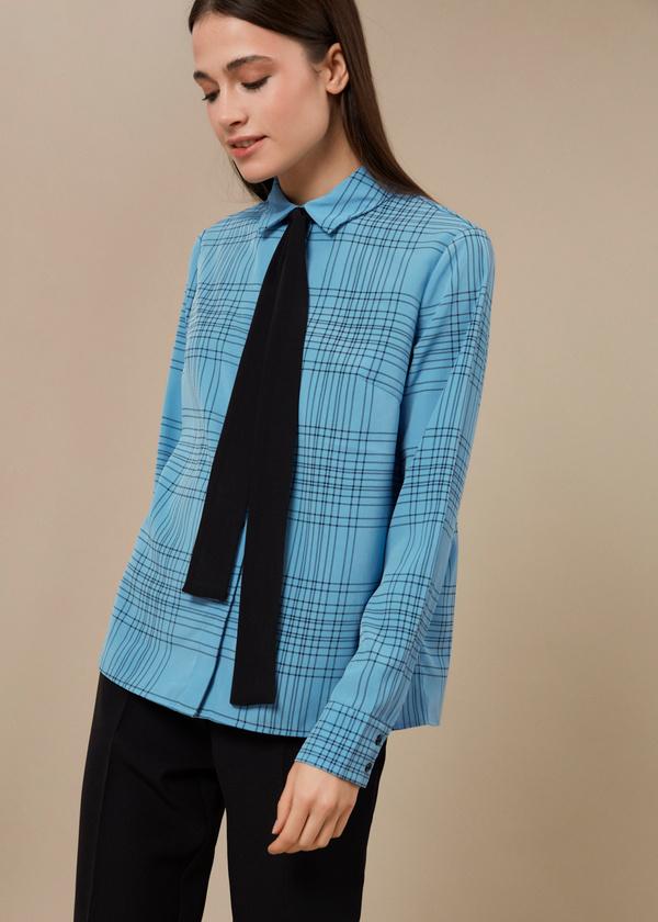 Блузка с галстуком - фото 3