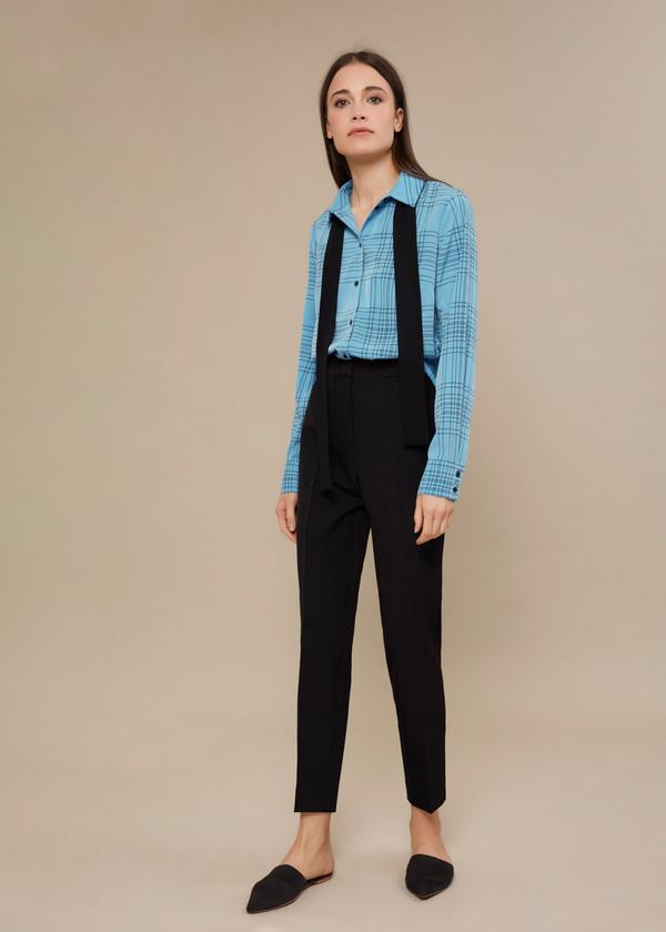 Блузка с галстуком - фото 5