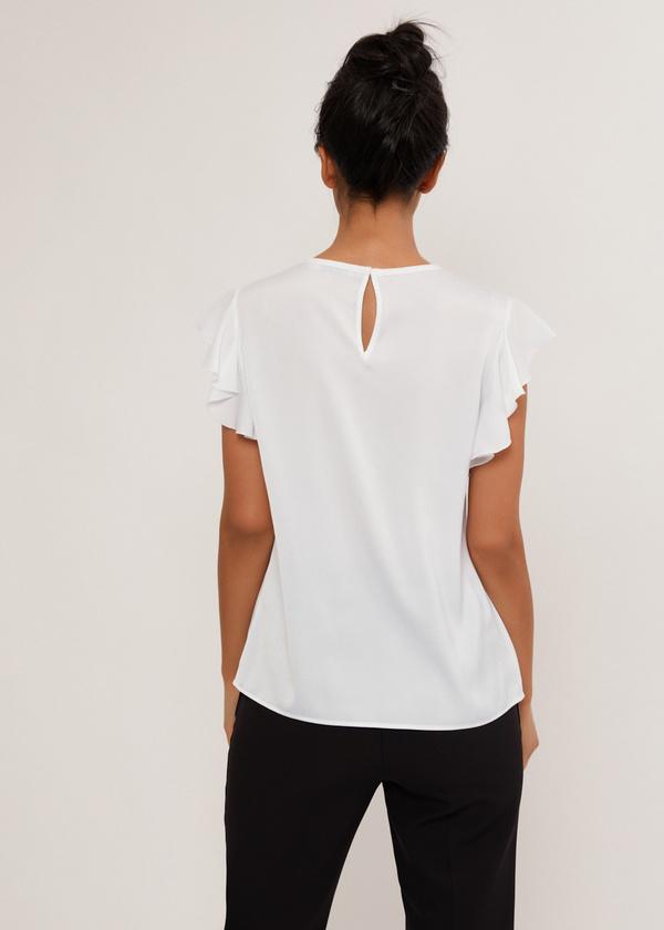 Блузка с рукавами крылышками - фото 4