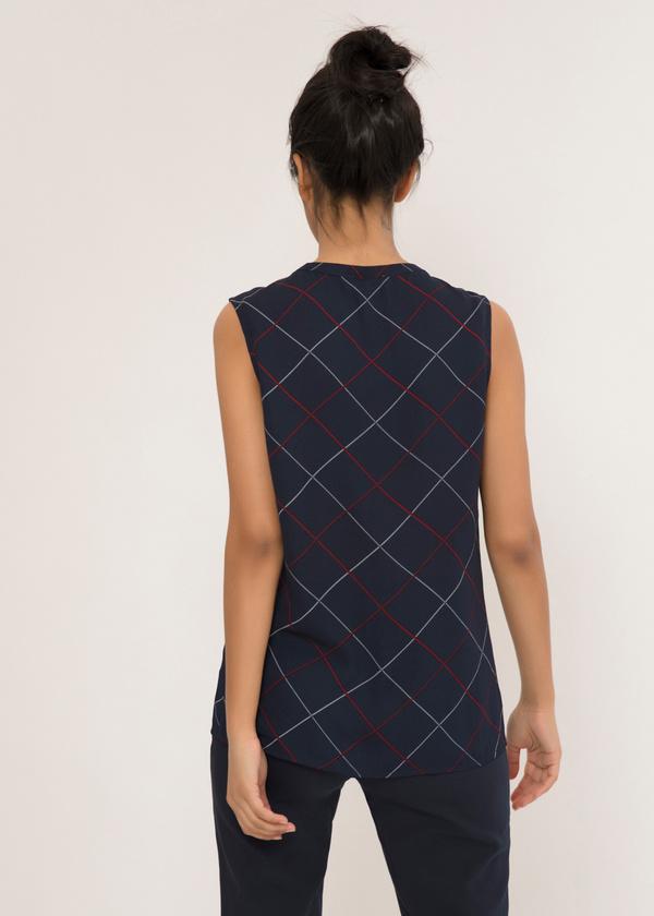 Легкая блуза с застежкой капелька - фото 4