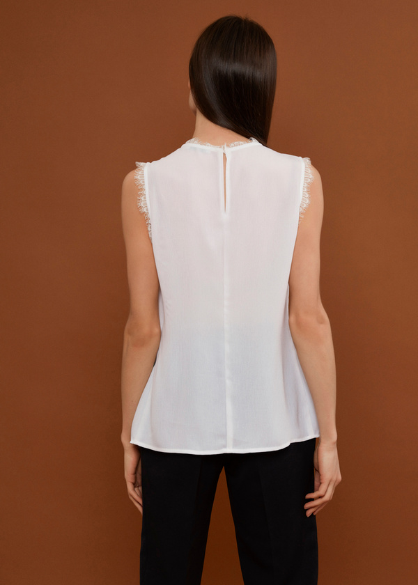 Блузка с кружевом - фото 3